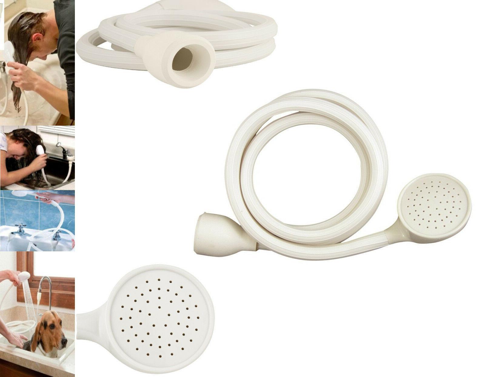 portable shampoo sprayer sink spray hose kitchen