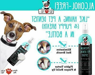 Pets Premium Dental Spray : Eliminate Btl