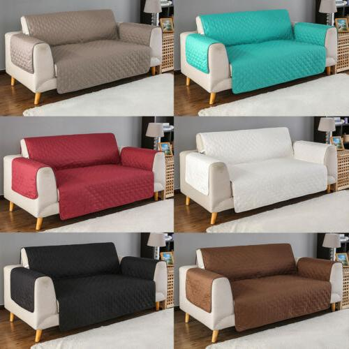 quilted sofa cover slipcover waterproof couch pet