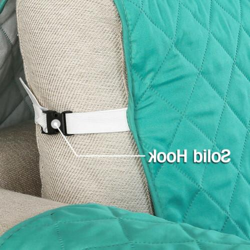 Quilted Sofa Waterproof Nonslip Couch Loveseat Slipcover Pet