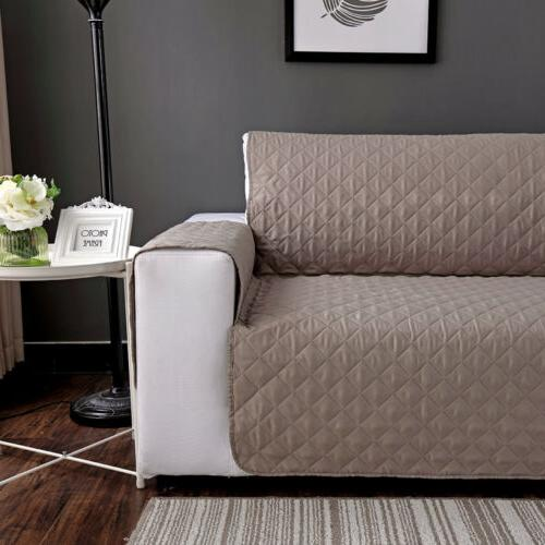 Quilted Sofa Cover Waterproof Pet