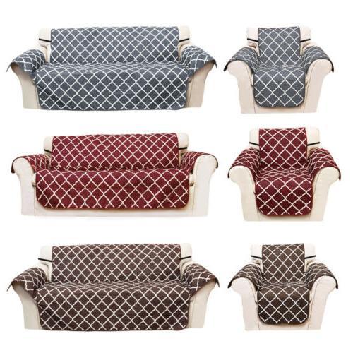 Quilted Sofa Nonslip Pet Protector Mat