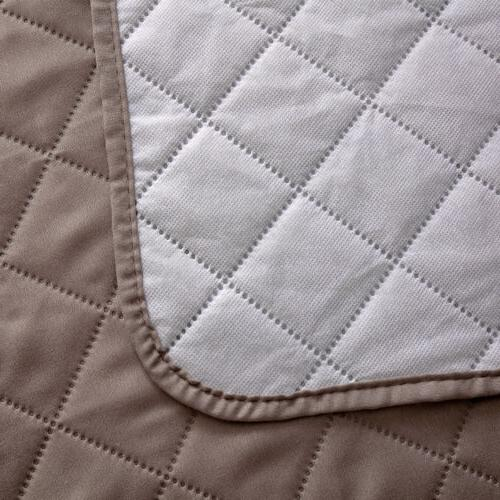 Quilted Waterproof Nonslip Couch Loveseat Pet Protector Mat