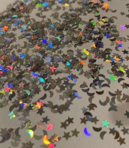 RARE STAR Glitter Mix Nails Holo