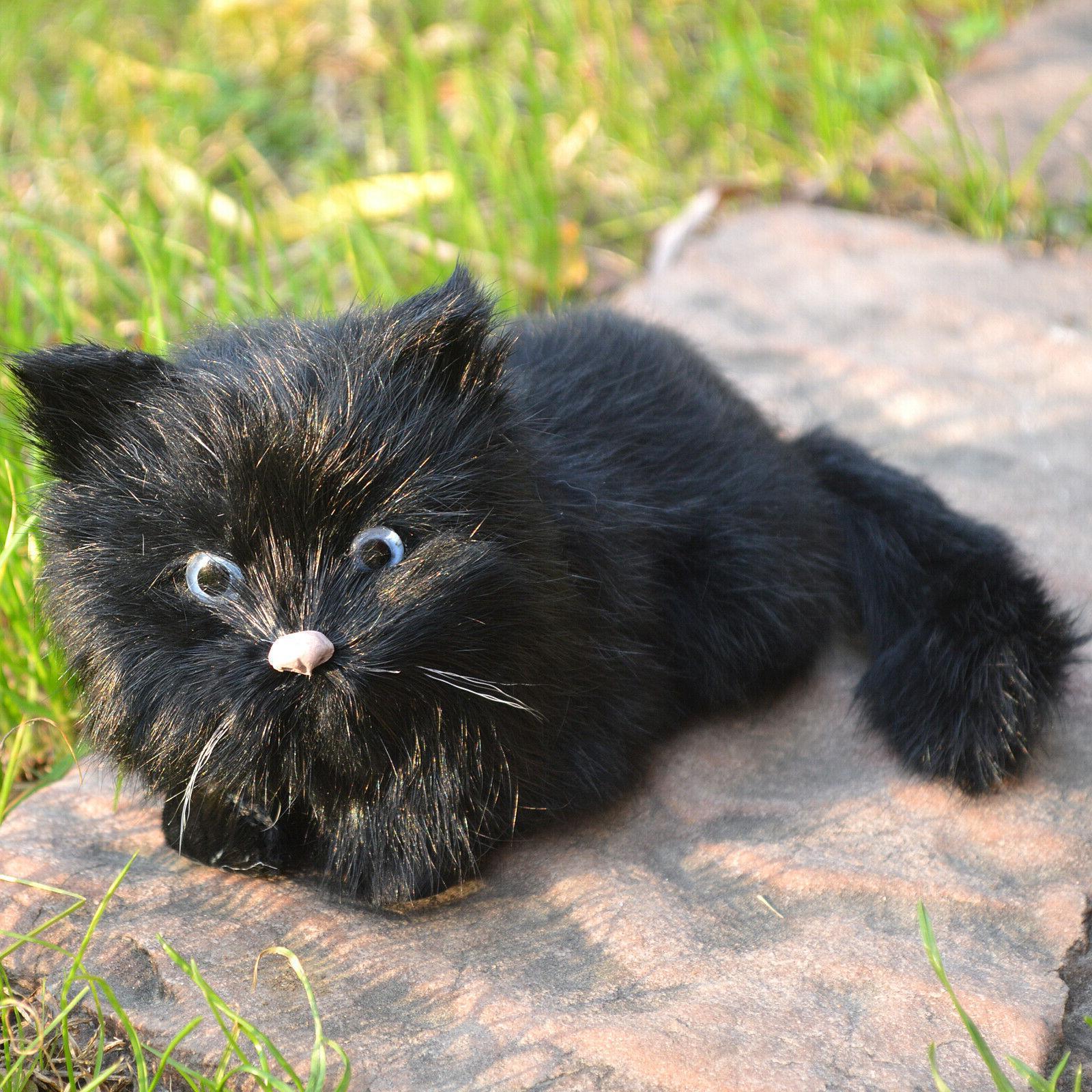 Realistic Black Cat