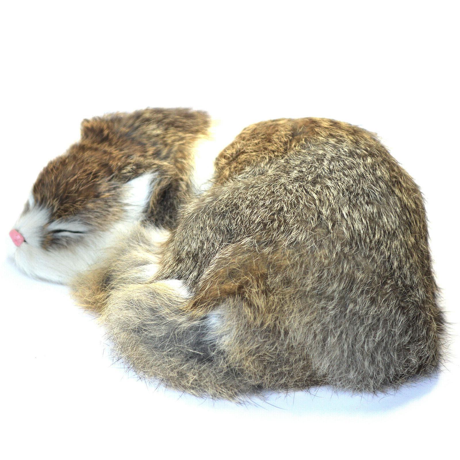 Realistic Lifelike Plush Soft Animal Sleeping