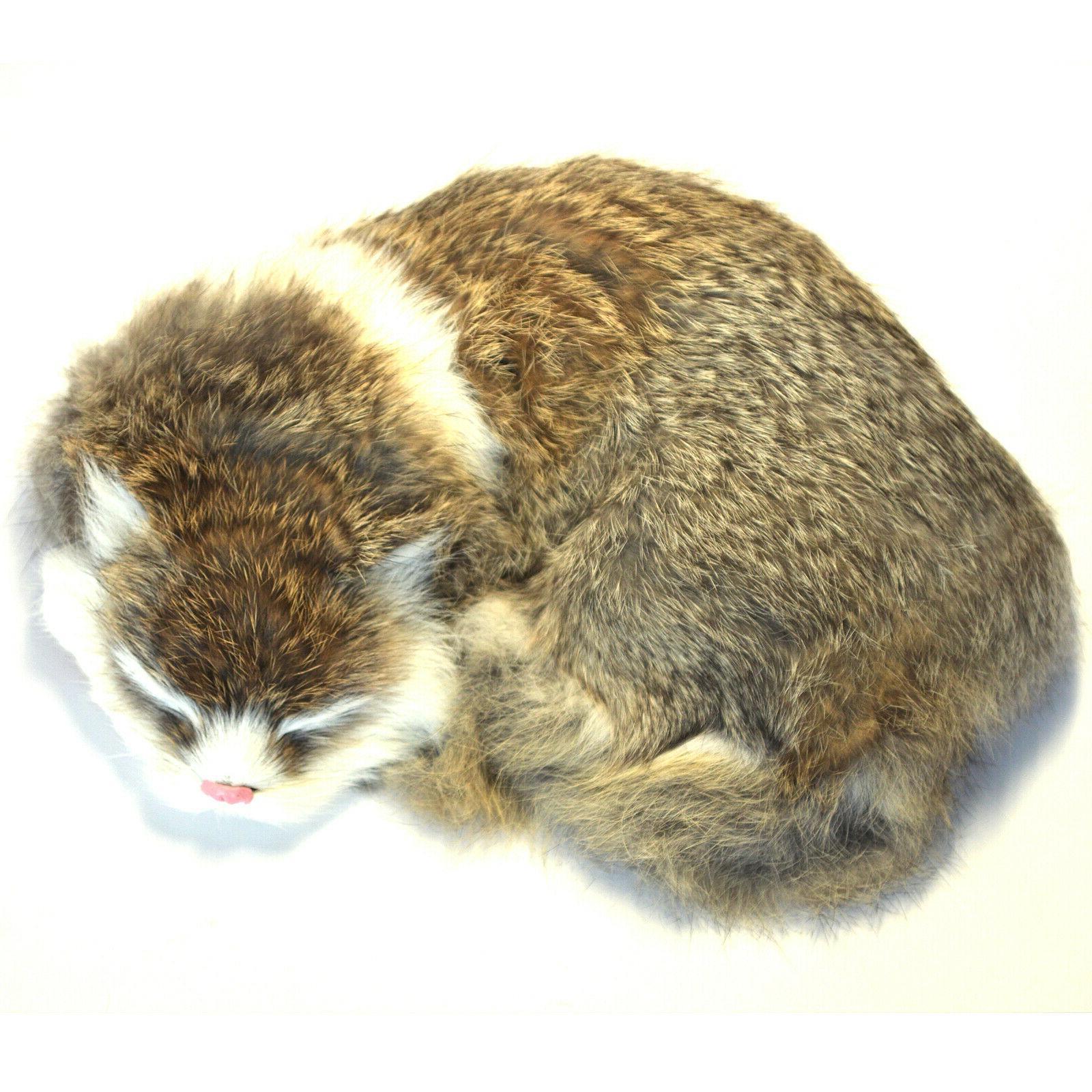 Realistic Cat Plush Furry Animal