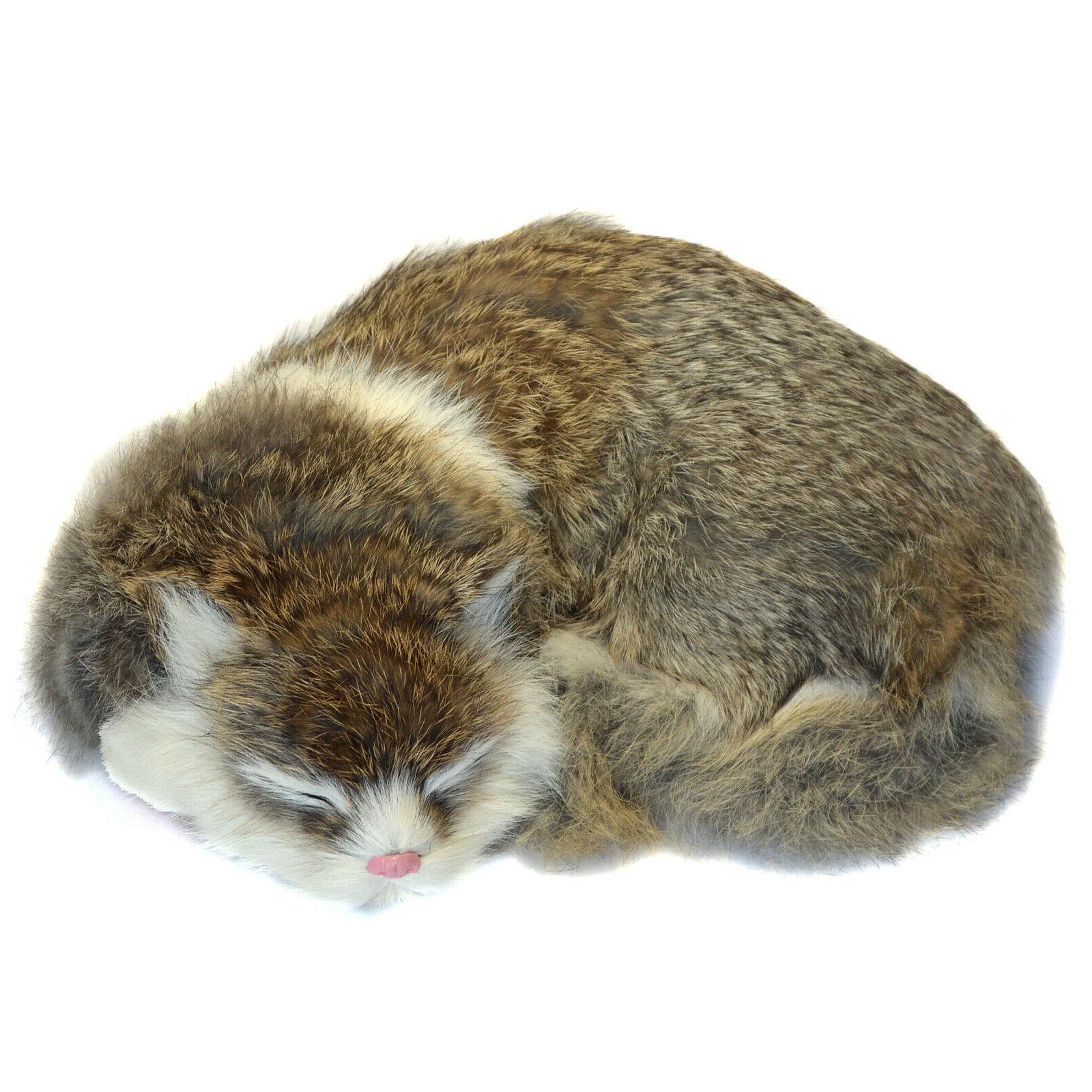 realistic cat lifelike kitten plush soft furry