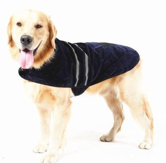 Reflective Fleece DOG Coat Winter Jacket Clothes