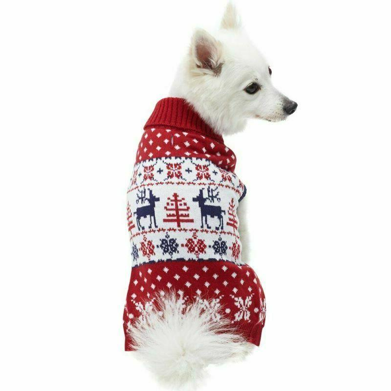 reindeer dog pullover sweater size 20