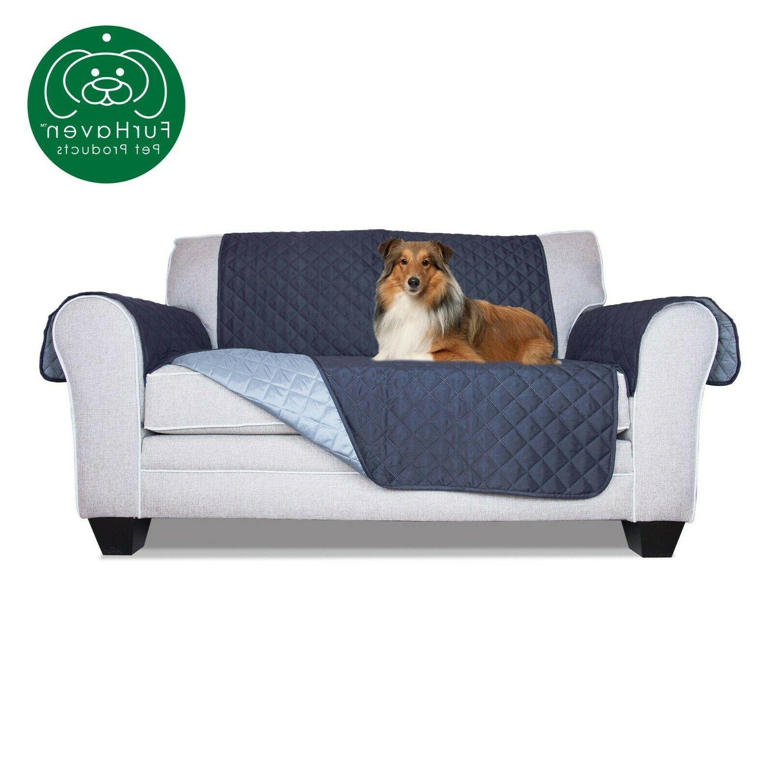 FurHaven Reversible Pet Furniture Protector