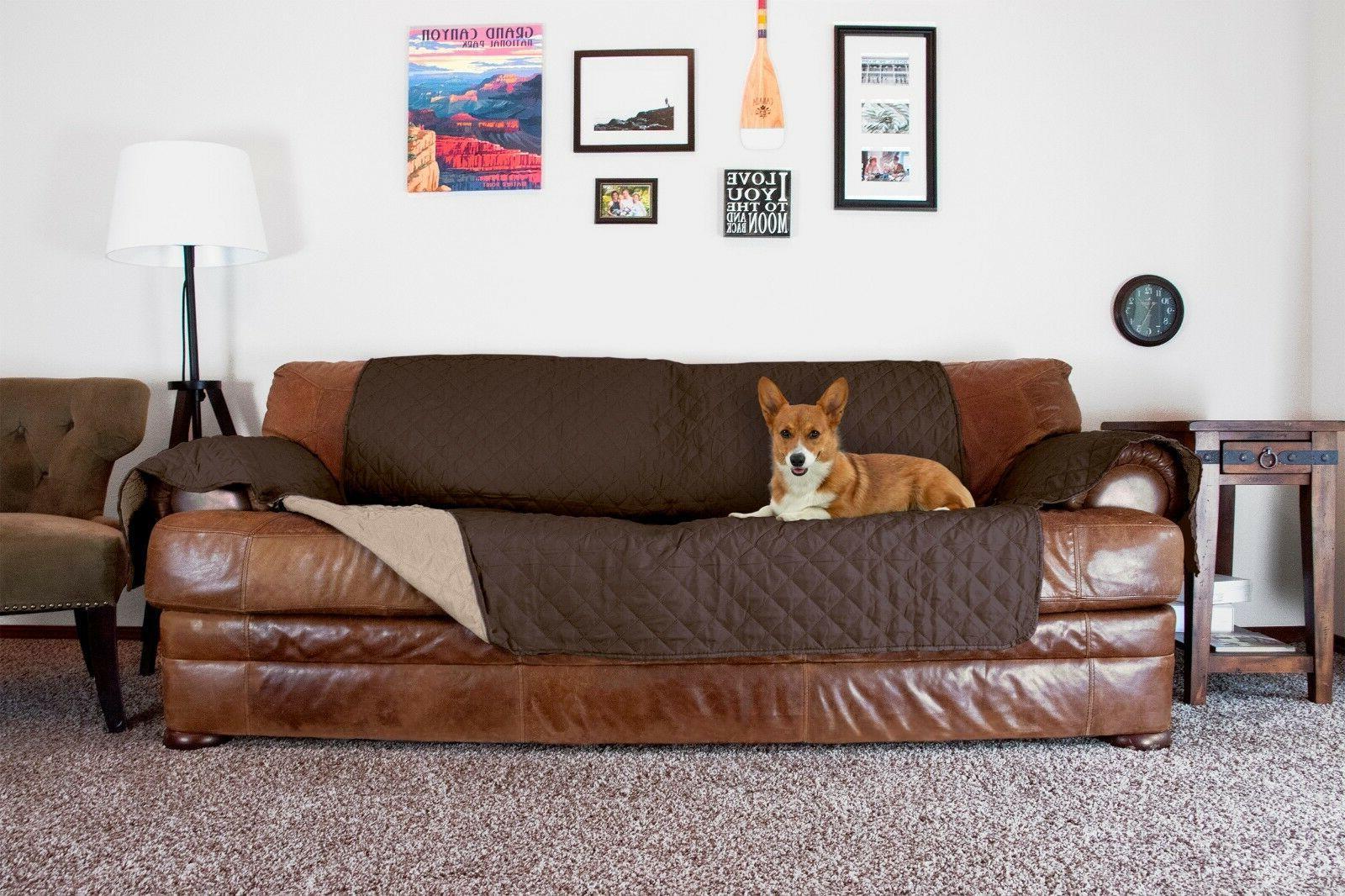 reversible pinsonic water resistant pet furniture protector