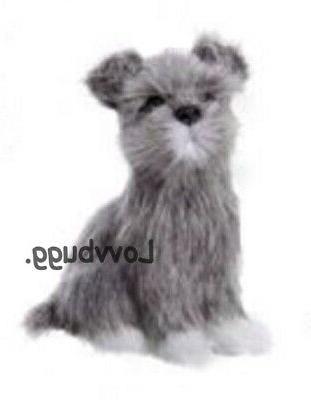 schnauzer dog for 18 inch american girl