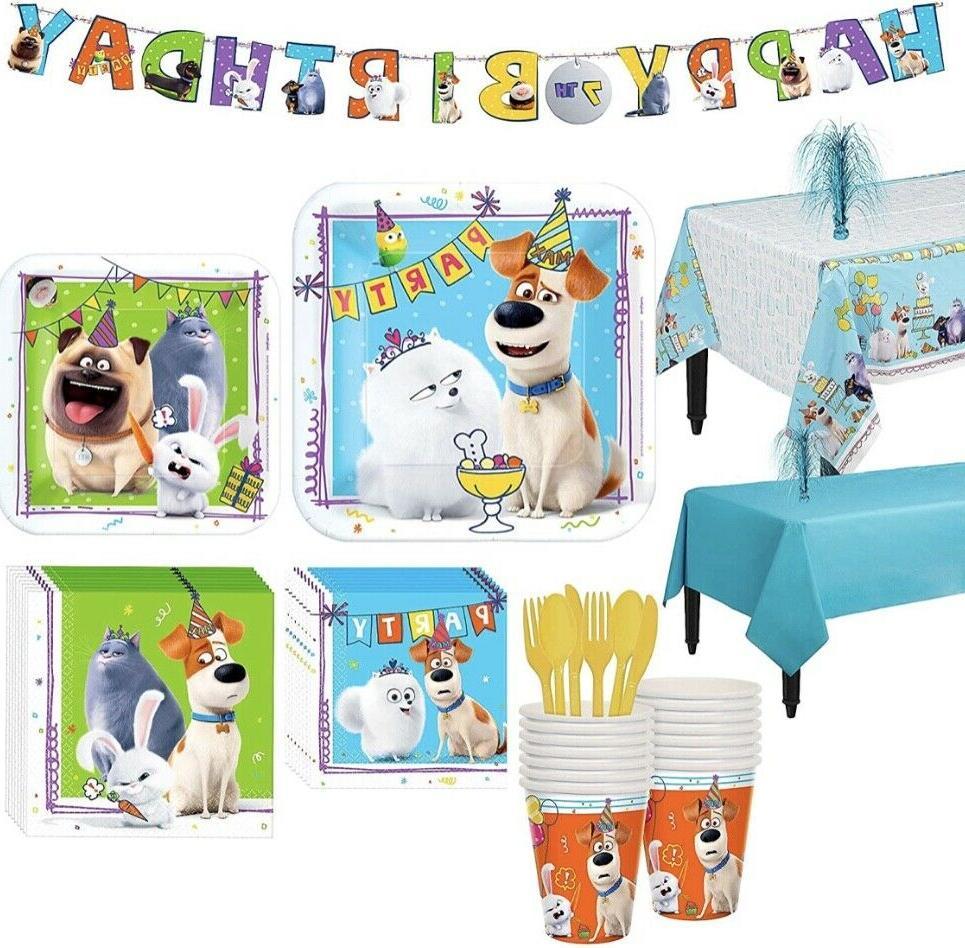 secret life of pets party supplies favors