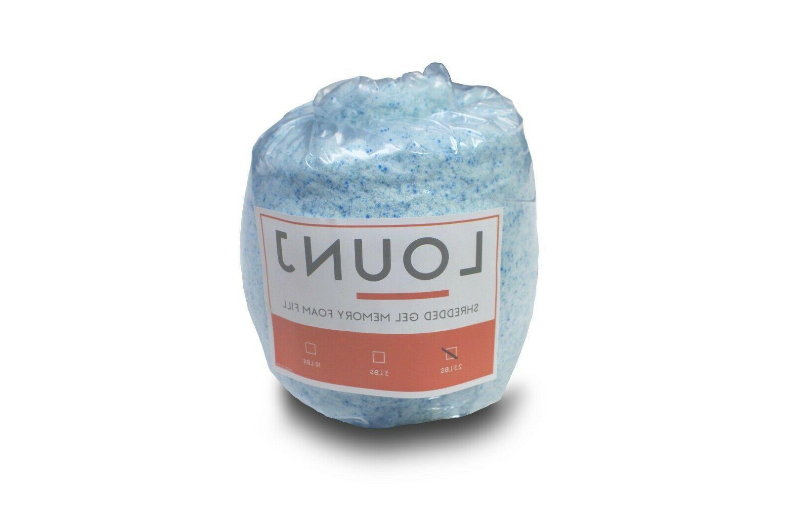shredded gel memory foam fill cushions crafts