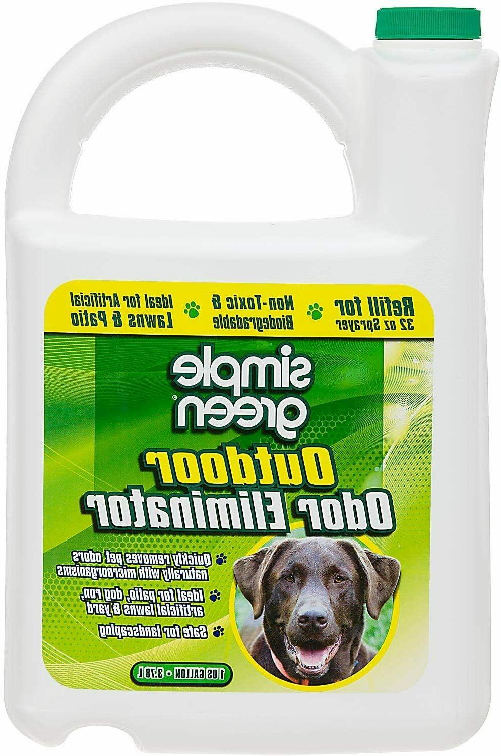 simple green outdoor odor eliminator for pets