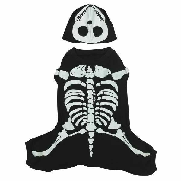 Casual Glow Bones Dog Costume