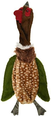 skinneeez crinklers bird dog toy
