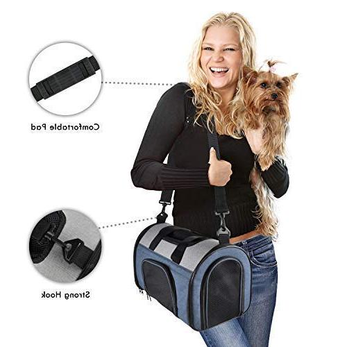 JESPET Soft Pet for Travel, Portable Lightweight Carrier Cat, Dog, Puppy, Small Animals