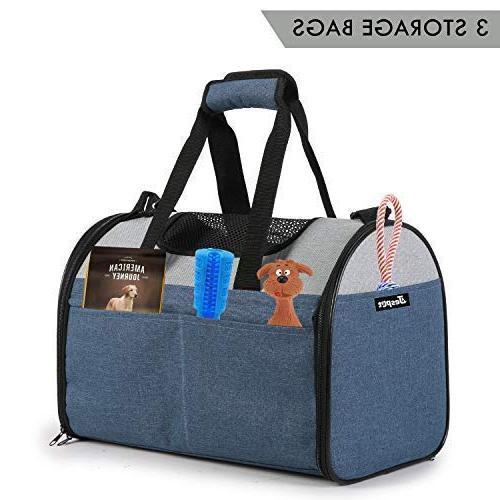 JESPET Carrier for Portable Lightweight Carrier Bag Cat, Dog, Animals