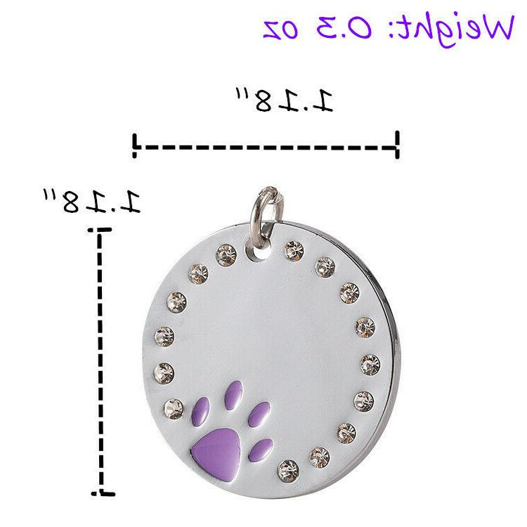 Buy Free √ Sparkling Cat Dog Tag Tags