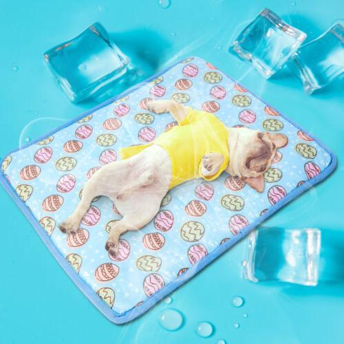 summer dog cooling mat small large pet