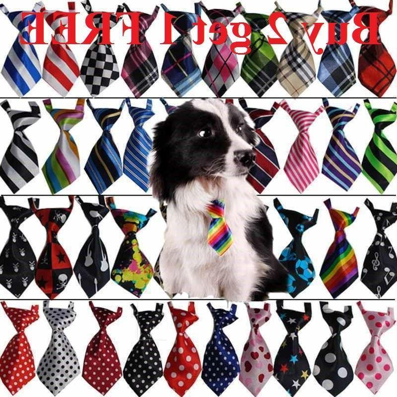 teddy adjustable bow tie necktie collar lovely
