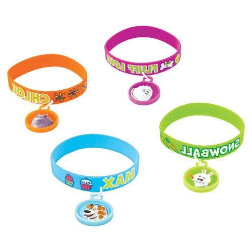 the 2 deluxe rubber bracelets 4 birthday