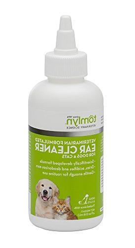 tomlyn veterinarian formulated ear cleaner