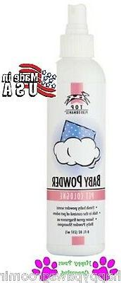 """Top Performance PET GROOMING""""BABY POWDER""""Pump Spray COLOGNE"""