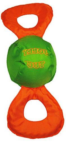 Jolly Pets Jolly Tug Tug/Squeak Toy, Medium