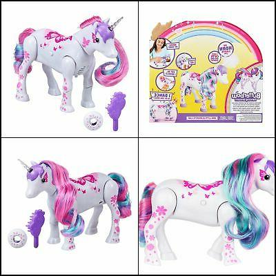 unicorn girls gift butterbow dancing unicorn