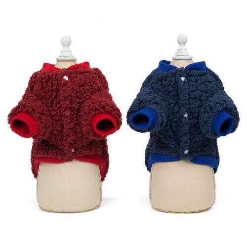 US Chihuahua Dogs Coat Jacket Warm