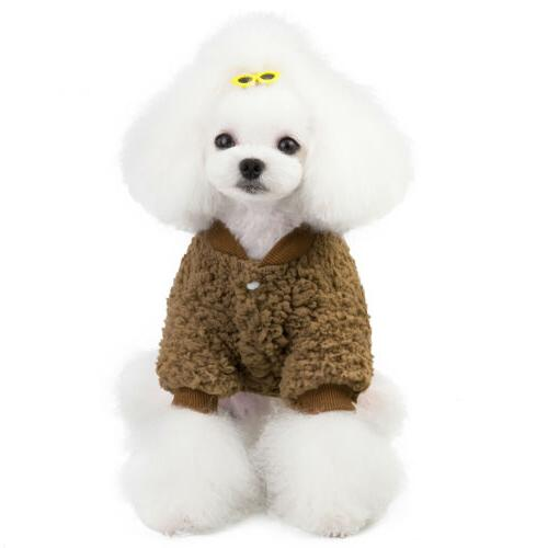 US Dogs Fleece Coat Warm
