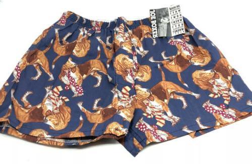 vintage nos boxers underwear shorts size large