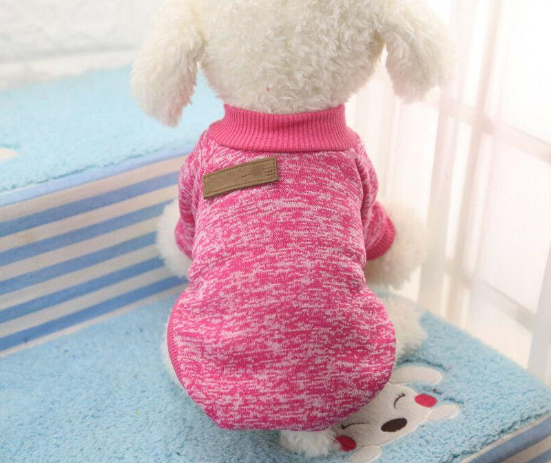 Warm Clothes for SWEATER Yorkie Small Dog