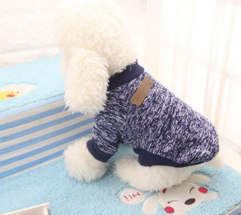 Warm Clothes SWEATER Yorkie Dog Coat Jacket Soft