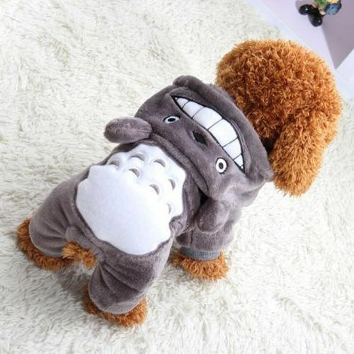 Warm Hoodie Costume Apparel Puppy Cat Sweater