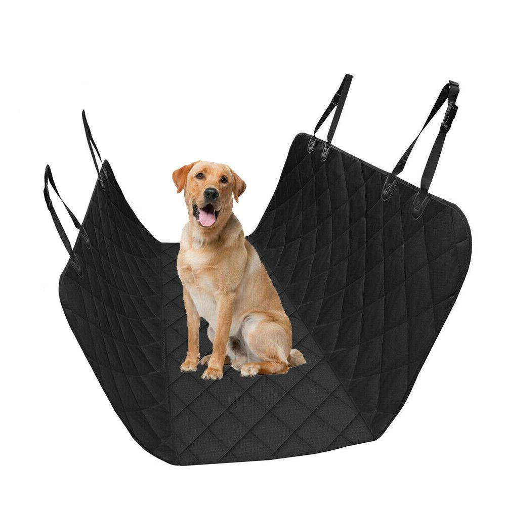 Waterproof Pet Back Seat Cover Travel Dog Cover