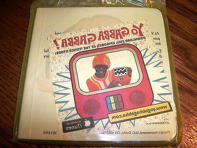 Wendy's Yo Gabba Pets Baby Book Cardboard NIP