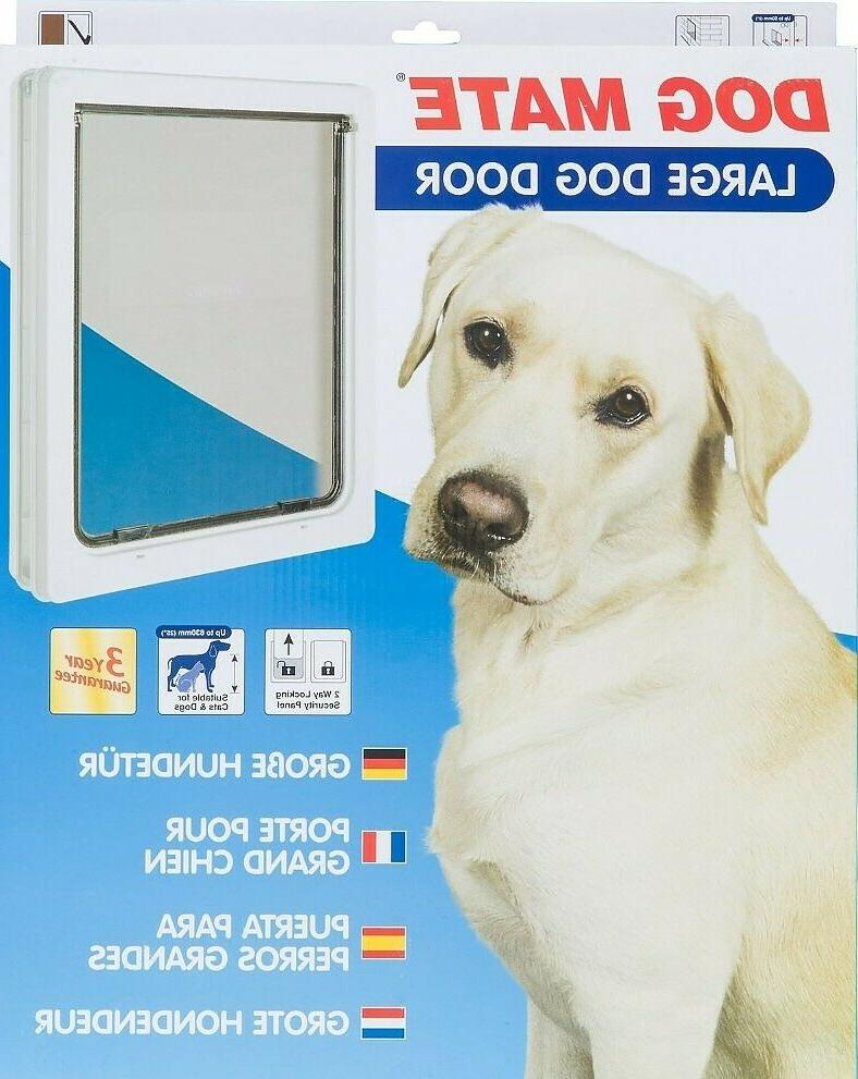 Dog Door Large with locking