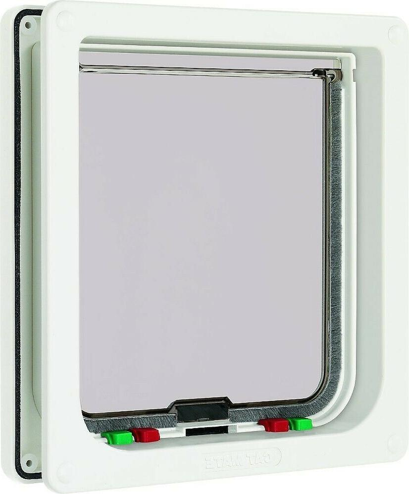 Dog Door Large Size with 2-way locking security panel