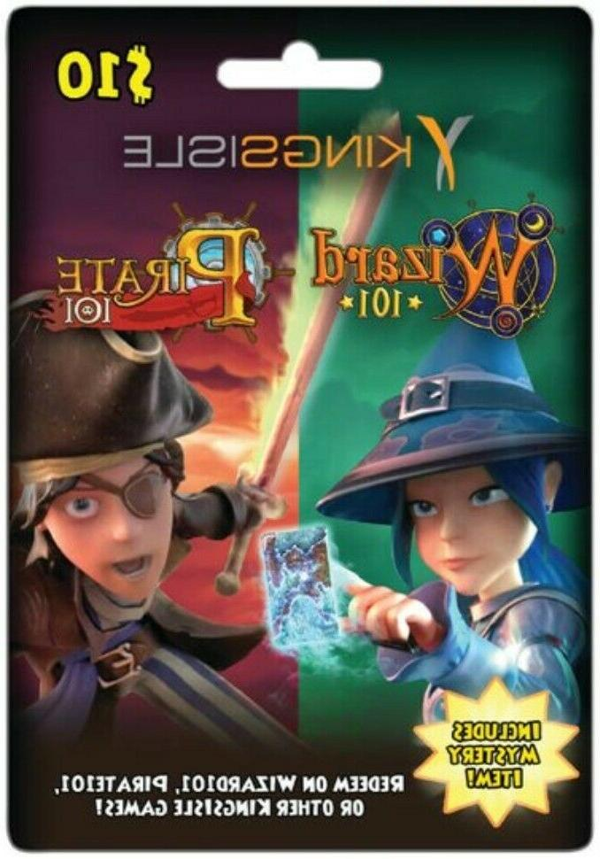 wizard 101 game card w pet 5k
