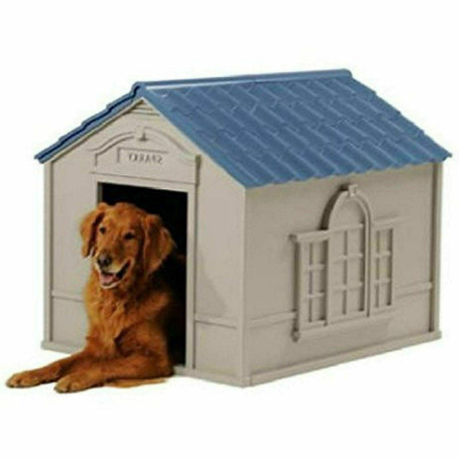 XL DOG KENNEL FOR X-LARGE 100 PET CABIN INSULATED BIG