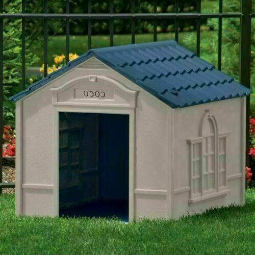 XL DOG KENNEL X-LARGE PET CABIN INSULATED HOUSE