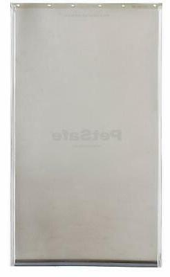 XL Extra Large Replacement Flap Pet Door Premium Aluminum Fr