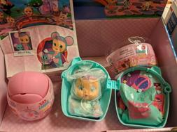 LALA & Pet LISA Mouse Cry Babies Magic Tears Bottle House ..