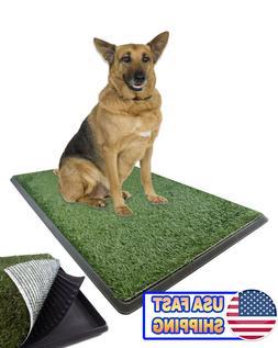 Large Pet Grass Potty Patch Portable Dog Training Bathroom P