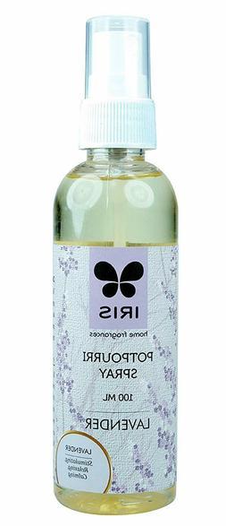 Iris Lavender Air Freshener Pet Bottle Potpourri Spray 100ml