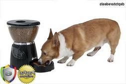 Petmate Le Bistro Portion-Control Automatic Pet Feeder, 5-Po